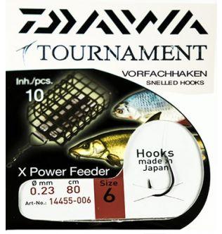 Готовый поводок Daiwa Tournament X Power Feeder