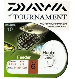 Готовый поводок Daiwa Tournament Feeder