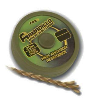 Поводочный материал Fox Armadillo 45lb Green x 20m