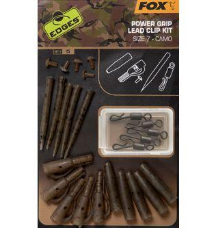 Камуфльований Набір Безпесних Кліпс Щільного Хвату Fox Camo Power Grip Lead Clip Kit №7