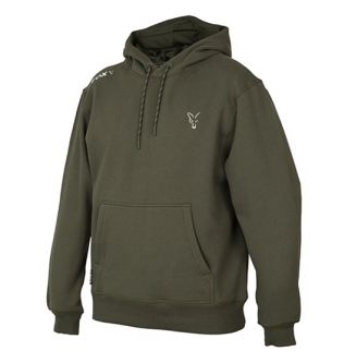 Толстовка Кенгеру Fox Collection Green & Silver Hoodie