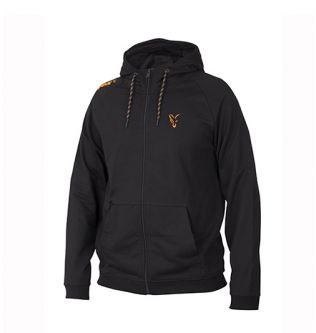 Толстовка Fox Collection Orange & Black Lightweight Hoodie