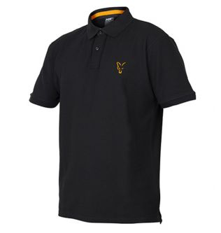 Поло Fox Collection Orange & Black Polo Shirt
