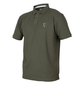 Поло Fox Collection Green & Silver Polo Shirt