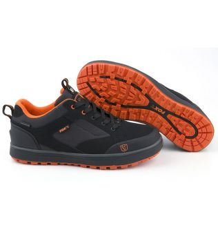 Fox Black & Orange Trainers - Кроссовки
