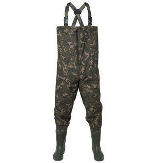 Камуфляжные облегченные вейдерсы Fox Chunk Camo Lightweight Waders