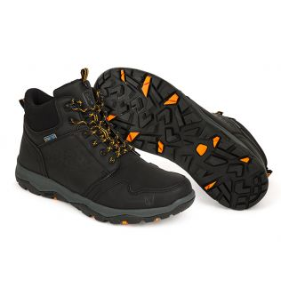 Черевики Fox Collection Black Orange Mid Boot
