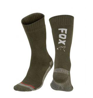 Шкарпетки Fox Collection Green Silver Thermolite long Sock