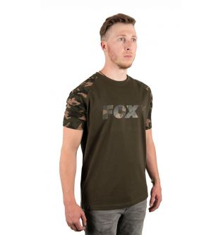 Футболка Fox CAMO Khaki Chest Print T-Shirt