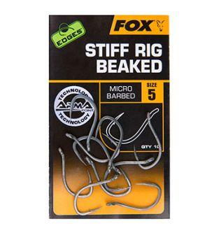 Крючки Fox Edges Armapoint Stiff Rig с Загнутым Жалом