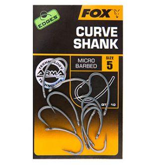 Крючки Fox Edges Armapoint Curve shank