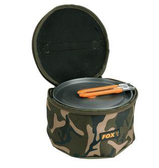Чехол для набора посуды Fox Camo Neoprene Cookset Bag