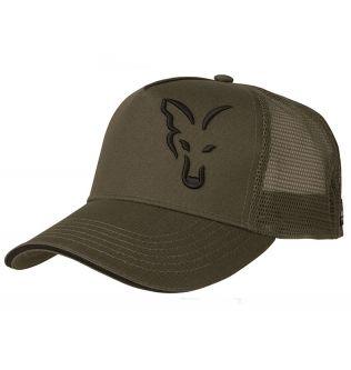 Fox Green & Black Trucker Cap - Кепка летняя