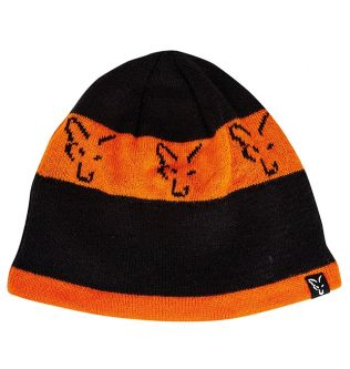 Шапка Fox Beanie Black Orange