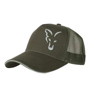 Кепка Fox Green Silver Trucker Cap