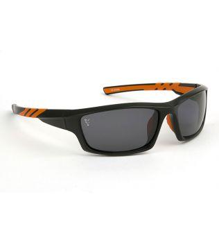 Очки Поляризационные с серыми линзами Fox Black Orange Grey lense