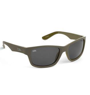 Fox Chunk Солнцезащитные Поляризационные очки Хаки с Серыми линзами