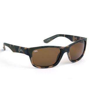 Солнцезащитные очки Fox Chunk Камуфляжные с коричневыми линзами