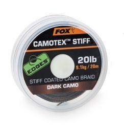 Поводочный материал Fox EDGES Camotex Stiff
