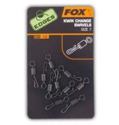 Fox EDGES Kwik Change Swivels - Вертлюжки быстросъемники