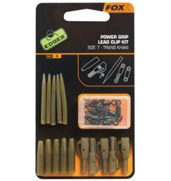 Fox EDGES Power Grip Lead Clip Kit - Набор оснастки безопасная клипса