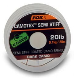 Поводочный материал Fox EDGES Camotex Semi Stiff