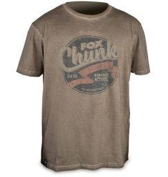 Футболка - Fox Chunk Stonewash T-Shirt Khaki