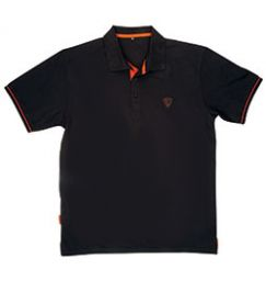 Футболка Fox Black Orange Polo Shirt