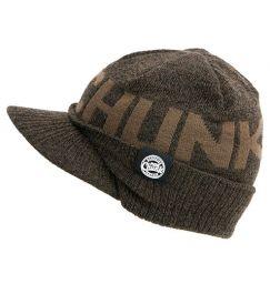 Шапка Fox Chunk Peaked Beanie Khaky