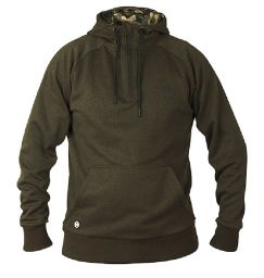 Fox Chunk Dark Olive Quarter Zip Hoody - Толстовка Кенгуру