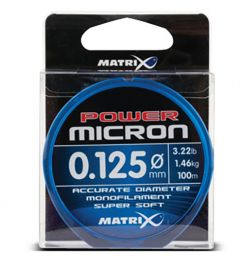 Монофильная леска Matrix Power Micron
